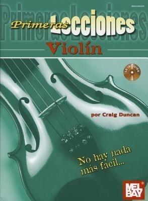 Primeras Lecciones Violin als Taschenbuch