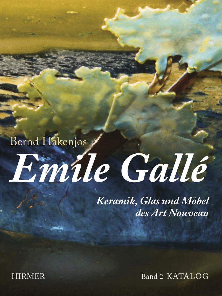 Emile Gallé als Buch (gebunden)