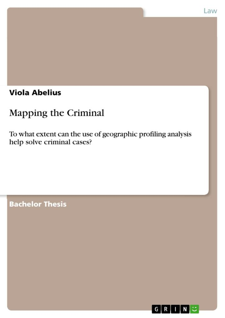Mapping the Criminal als eBook pdf