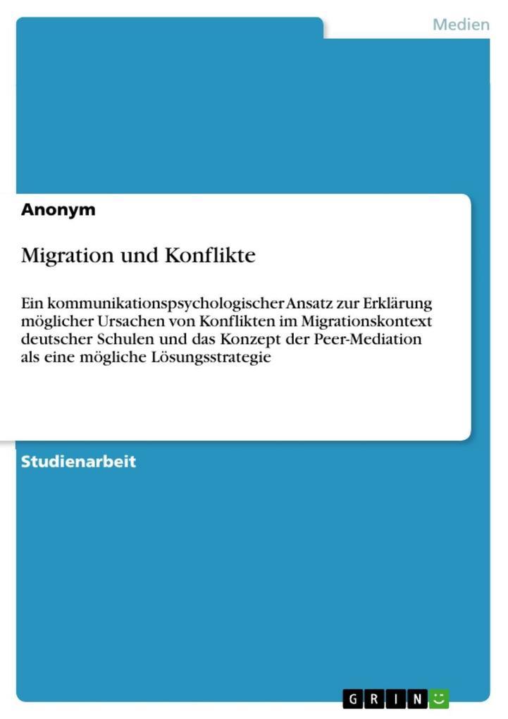 Migration und Konflikte als eBook epub