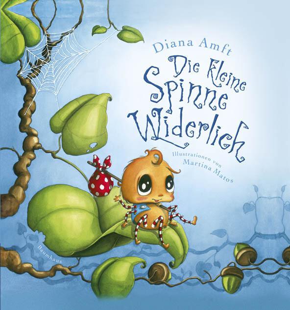 Die kleine Spinne Widerlich als Buch (gebunden)