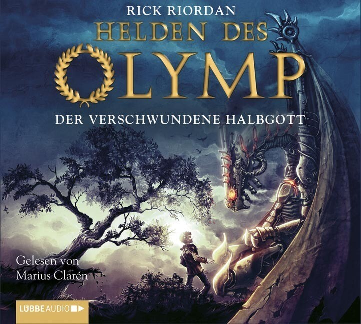 Helden des Olymp 01. Der verschwundene Halbgott als Hörbuch CD