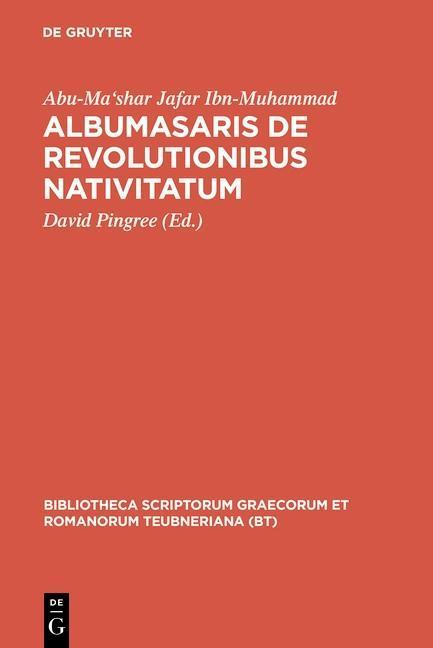 Albumasaris de revolutionibus nativitatum als eBook pdf