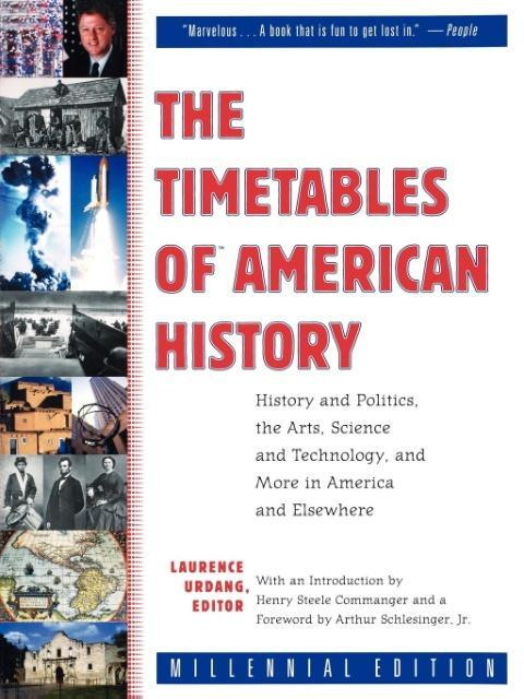 The Timetables of American History als Taschenbuch