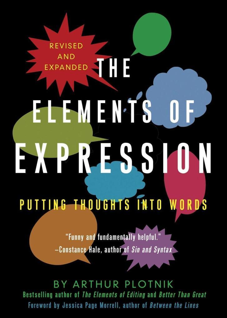 The Elements of Expression als eBook epub