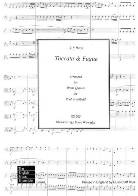 Toccata & Fugue als eBook pdf