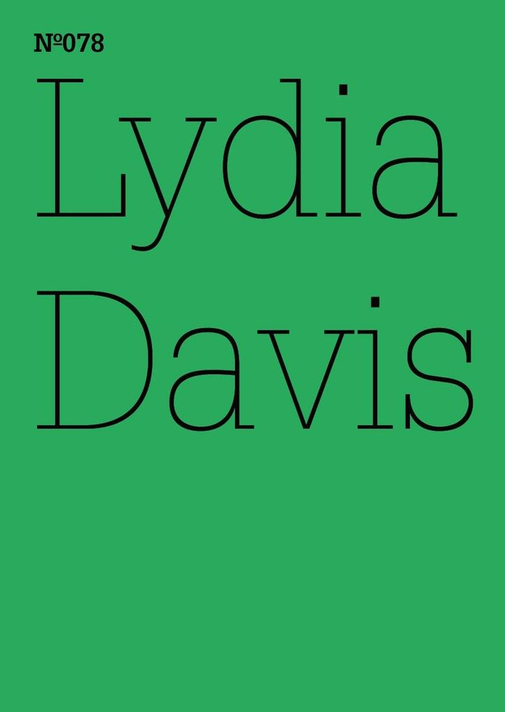 Lydia Davis als eBook