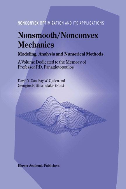 Nonsmooth/Nonconvex Mechanics als Buch (kartoniert)