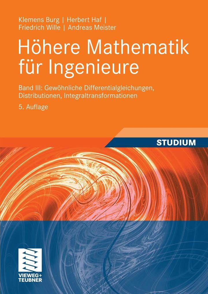 Höhere Mathematik für Ingenieure Band III als eBook pdf