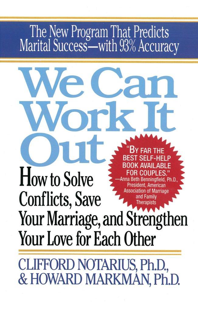 We Can Work it out als Taschenbuch