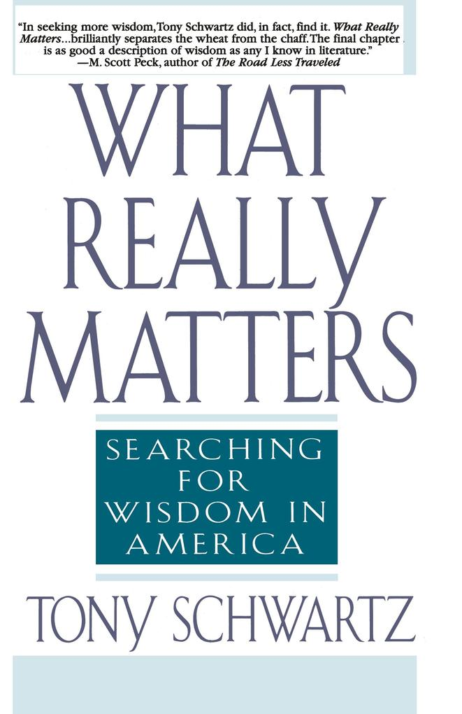 What Really Matters als Buch