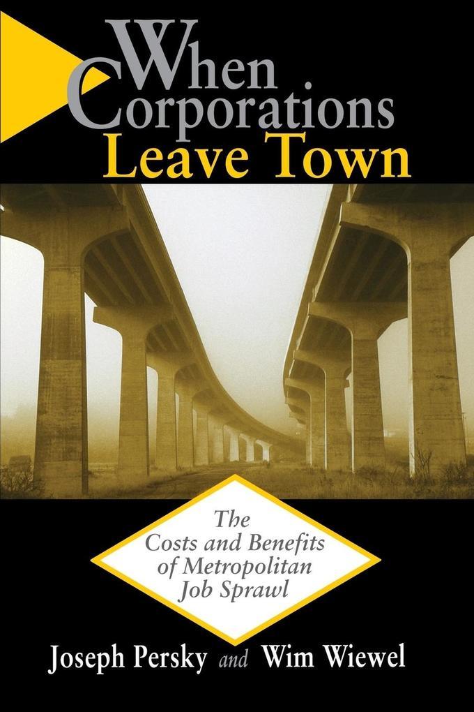 When Corporations Leave Town als Taschenbuch