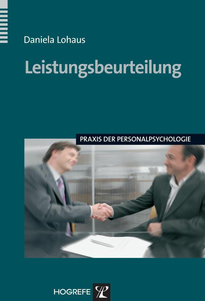 Leistungsbeurteilung. (Praxis der Personalpsychologie) als eBook epub