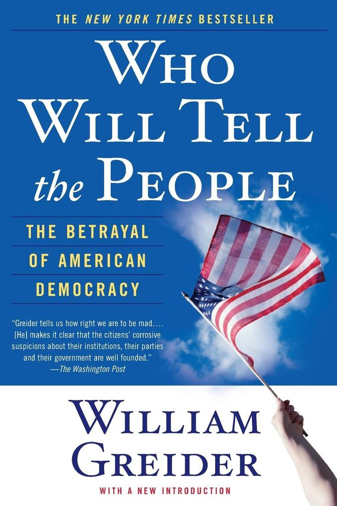 Who Will Tell the People als Buch (kartoniert)