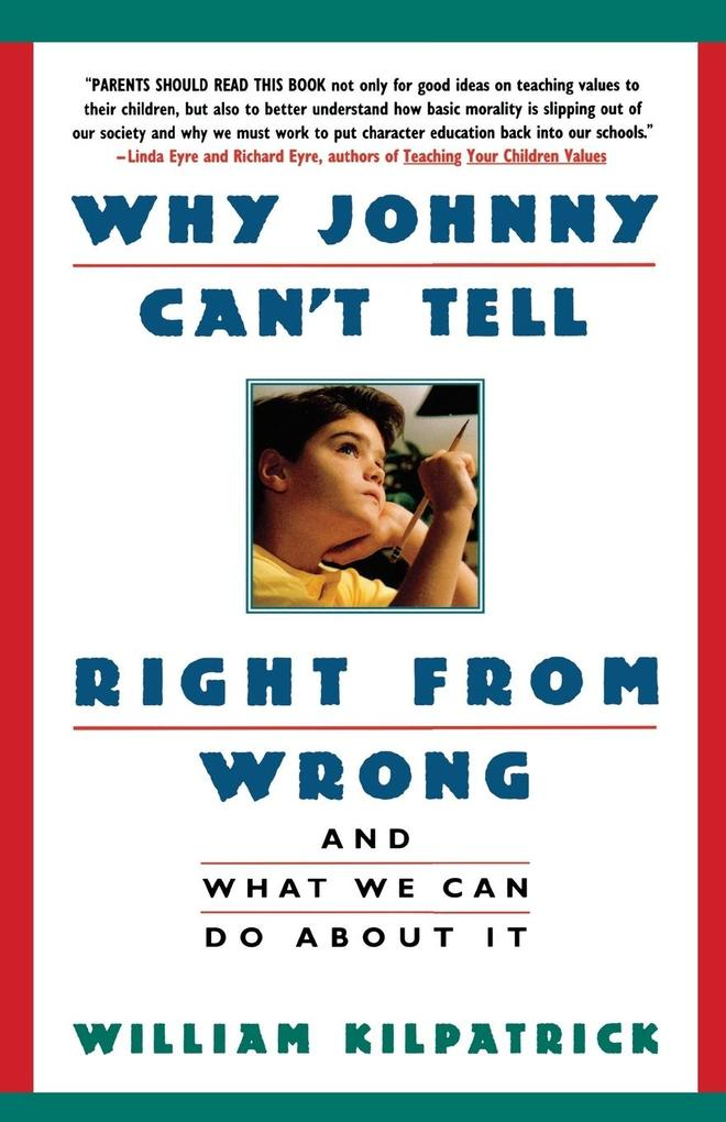 Why Johnny Can't Tell Right from Wrong als Taschenbuch