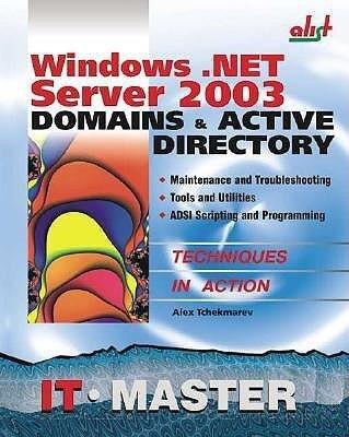 Windows .Net Server 2003 Domains & Active Directory als Taschenbuch