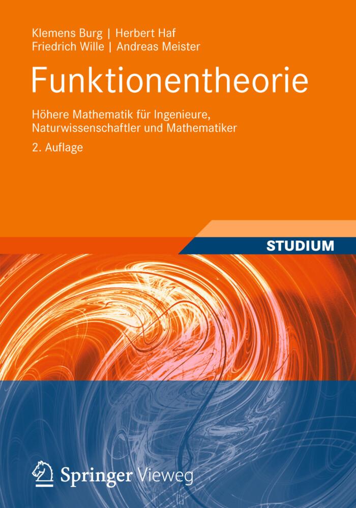 Funktionentheorie als Buch (kartoniert)