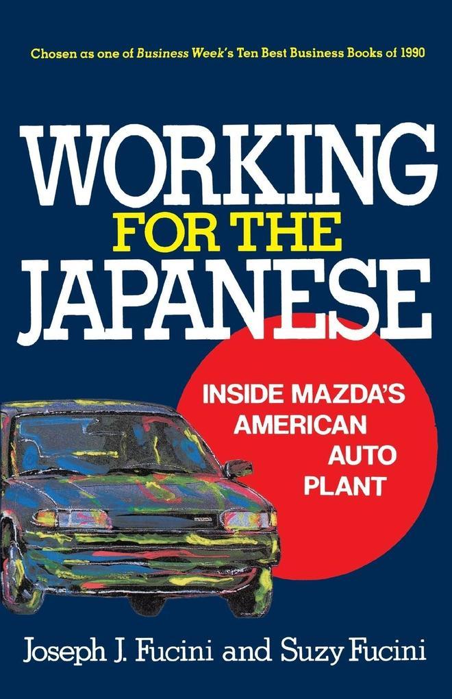 Working for the Japanese als Taschenbuch