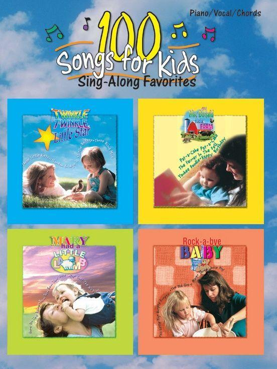 100 Songs for Kids: Sing-Along Favorites als Taschenbuch