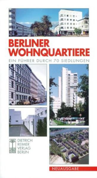 Berliner Wohnquartiere als Buch (kartoniert)