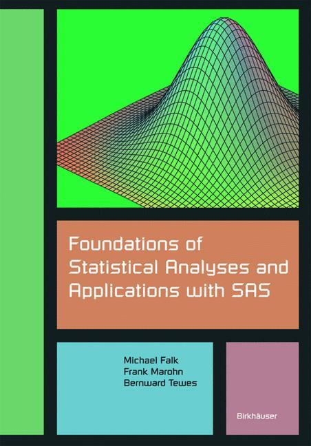 Foundations of Statistical Analyses and Applications with SAS als Buch (kartoniert)