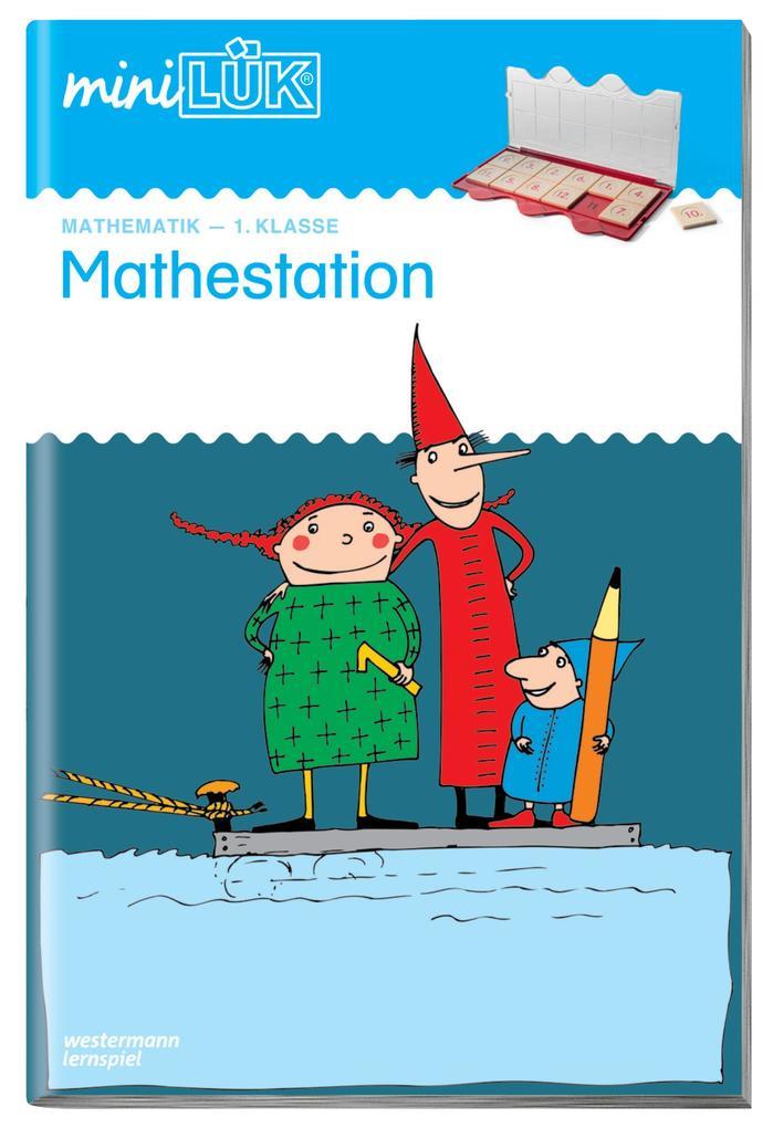 miniLÜK. Mathestation 1 als Buch (kartoniert)