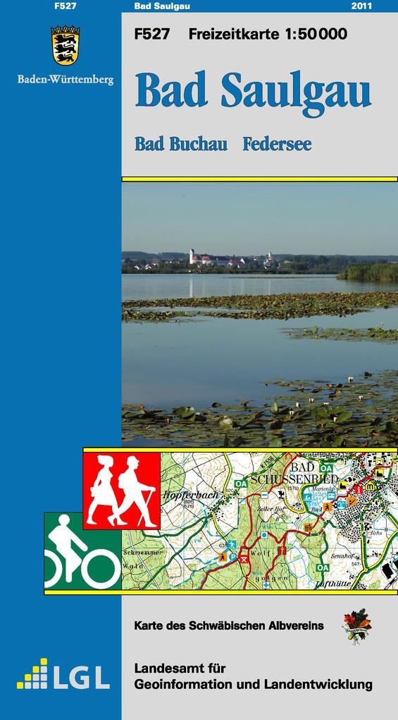LGL BW 50 000 Freizeit Bad Saulgau als Blätter und Karten