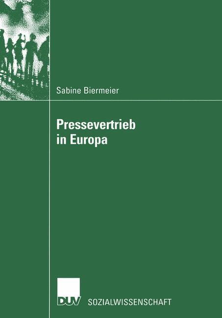 Pressevertrieb in Europa als Buch (kartoniert)