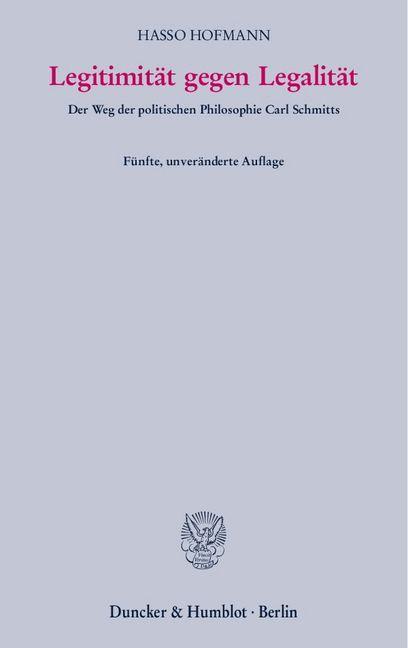Legitimität gegen Legalität als Buch (kartoniert)