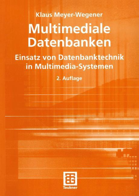 Multimediale Datenbanken als Buch
