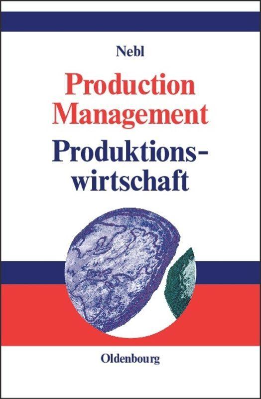 Production Management. Produktionswirtschaft als Buch (gebunden)
