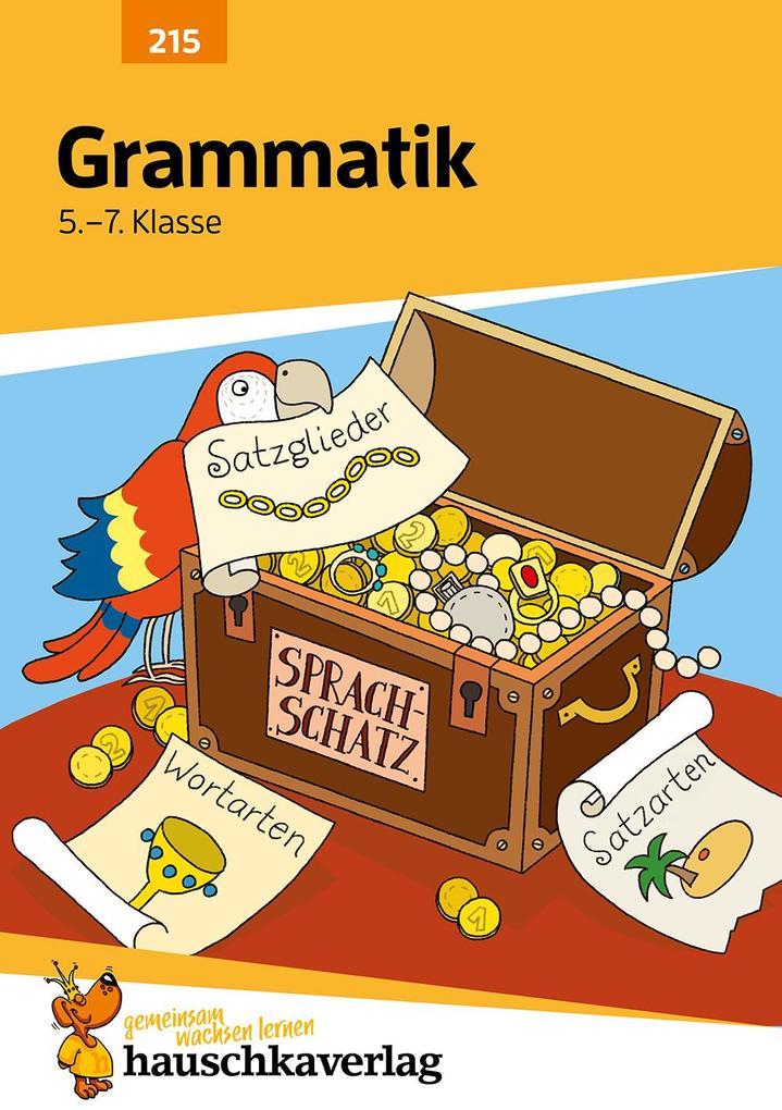 Grammatik 5. - 7. Klasse als Buch (kartoniert)
