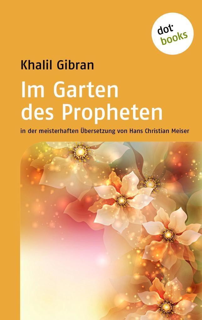 Im Garten des Propheten als eBook epub