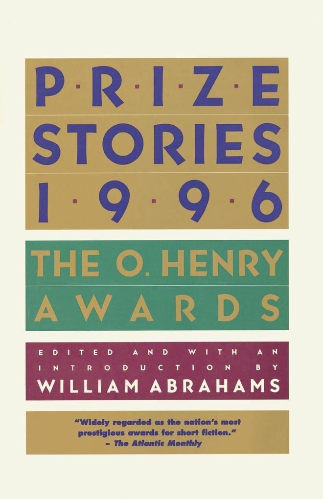 Prize Stories 1996 als Taschenbuch