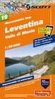 Mountainbike Map 19 Leventina / Valle di Blenio 1 : 50 000