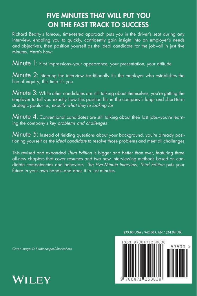The Five Minute Interview als Taschenbuch