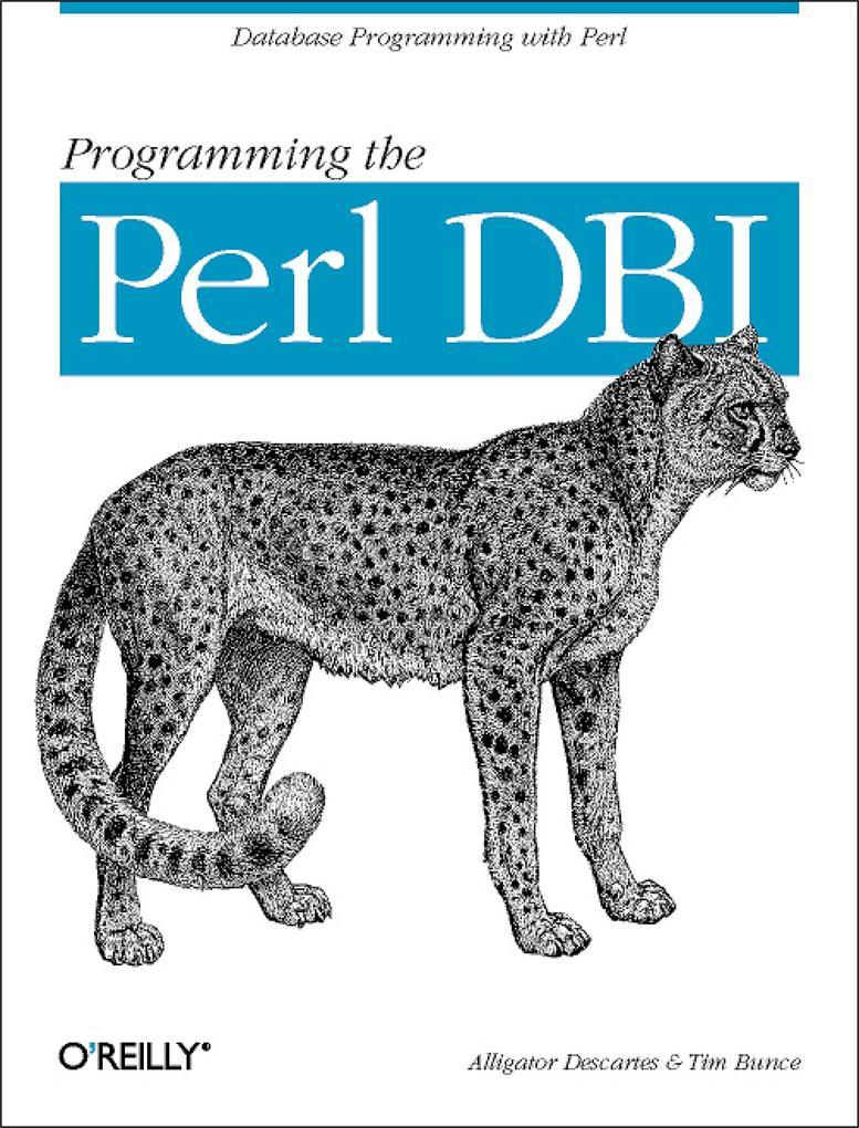 Programming the Perl DBI als eBook epub