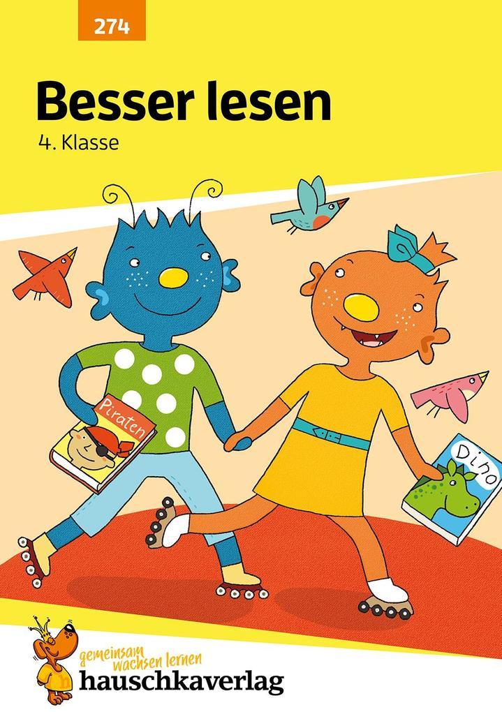 Besser lesen 4. Klasse als Buch (geheftet)