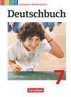 Deutschbuch 7. Schuljahr Gymnasium Niedersachsen. Schülerbuch