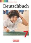 Deutschbuch 7. Schuljahr Gymnasium Hessen. Schülerbuch