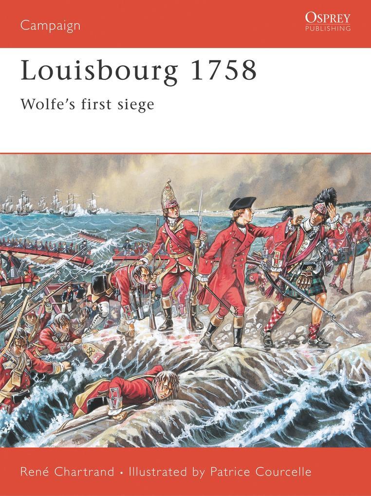 Louisbourg 1758: Wolfe's First Siege als Taschenbuch