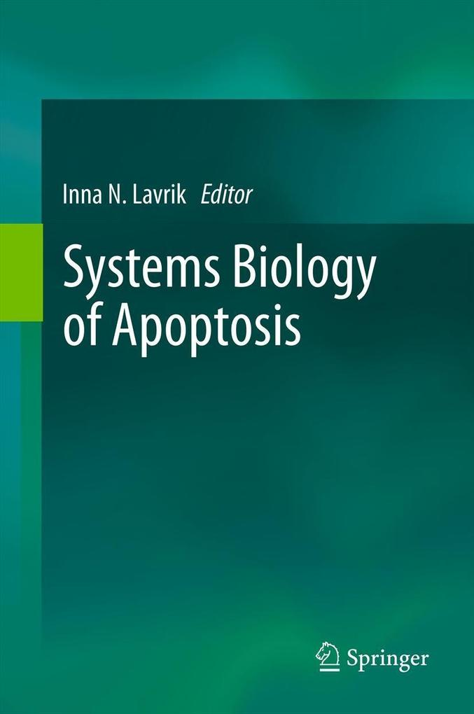 Systems Biology of Apoptosis als eBook pdf