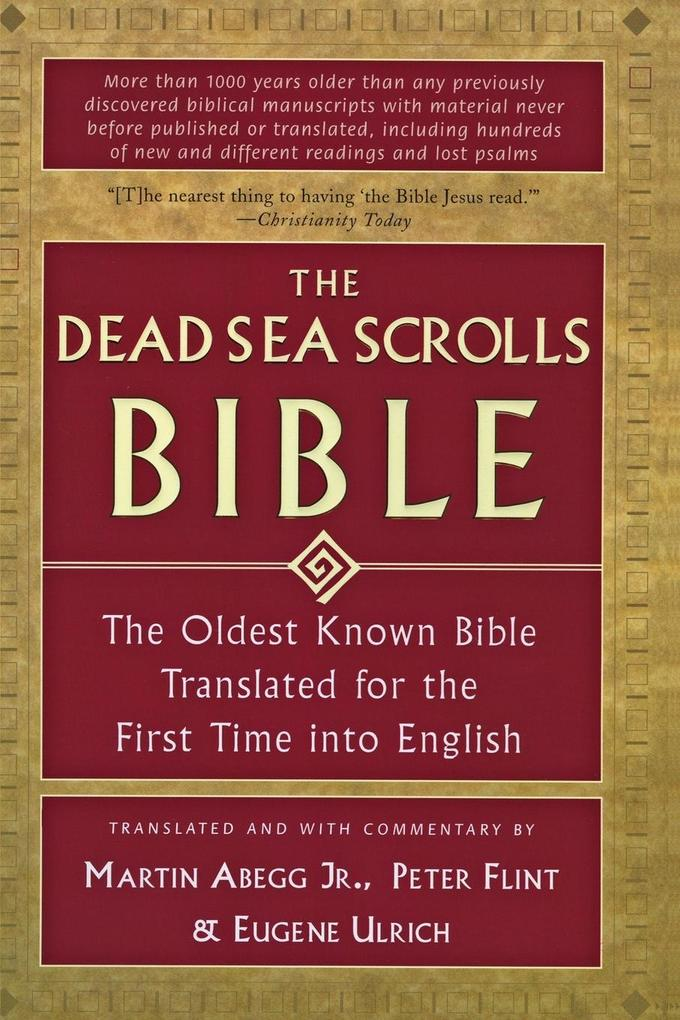Dead Sea Scrolls Bible, The als Taschenbuch