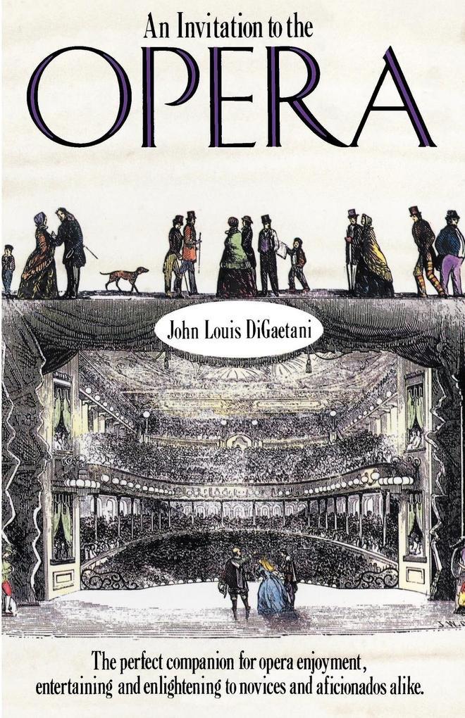 An Invitation to the Opera als Taschenbuch