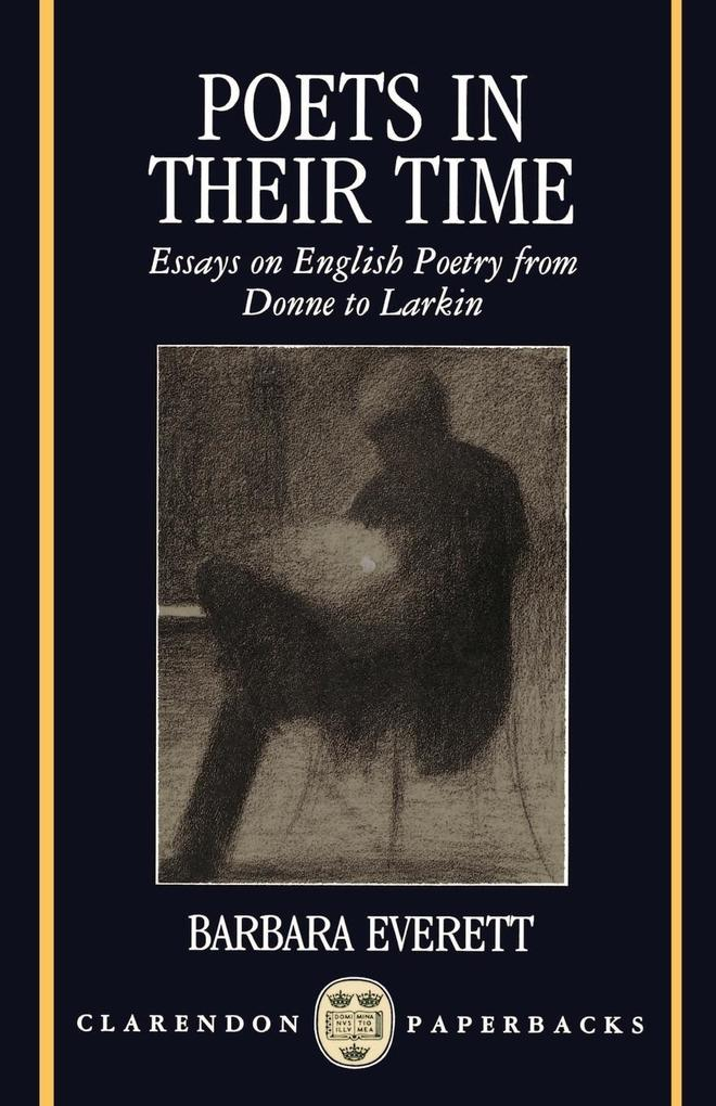 Poets in Their Time als Buch