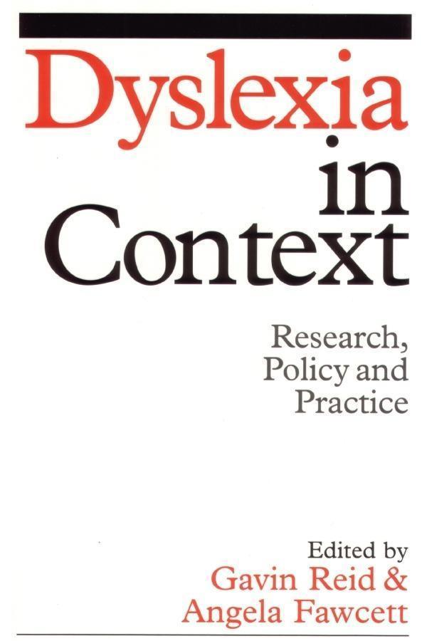 Dyslexia in Context als eBook pdf