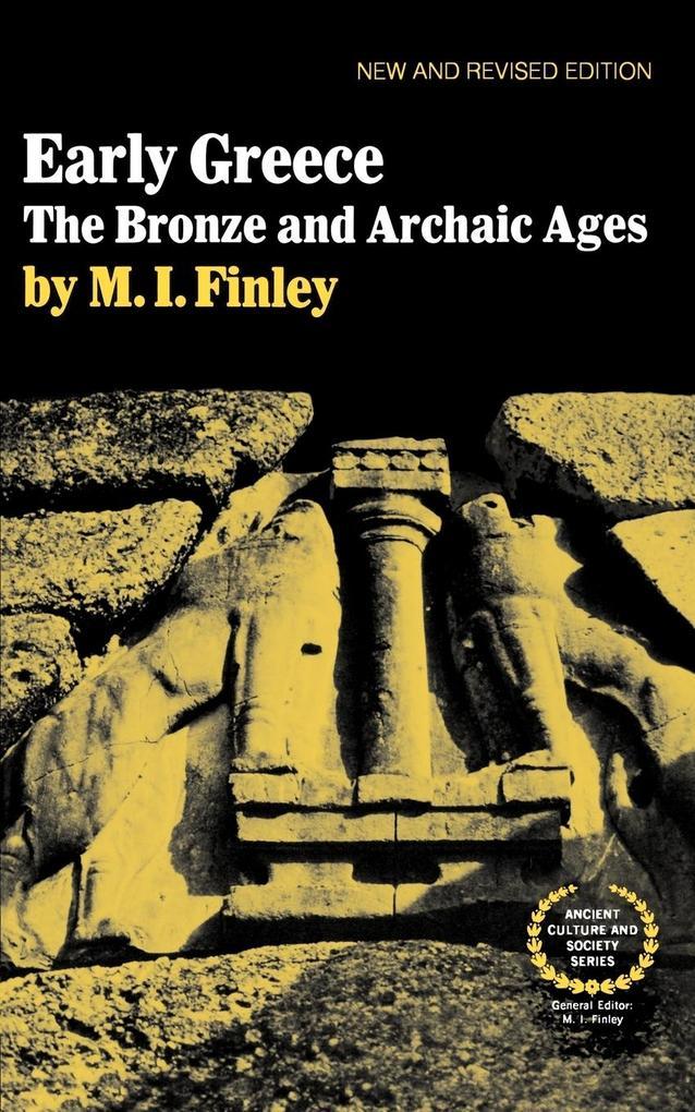 Early Greece als Taschenbuch