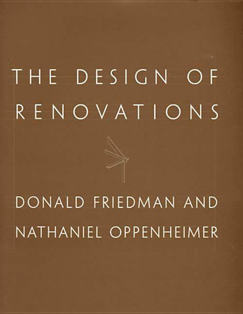 The Design of Renovations als Buch (gebunden)