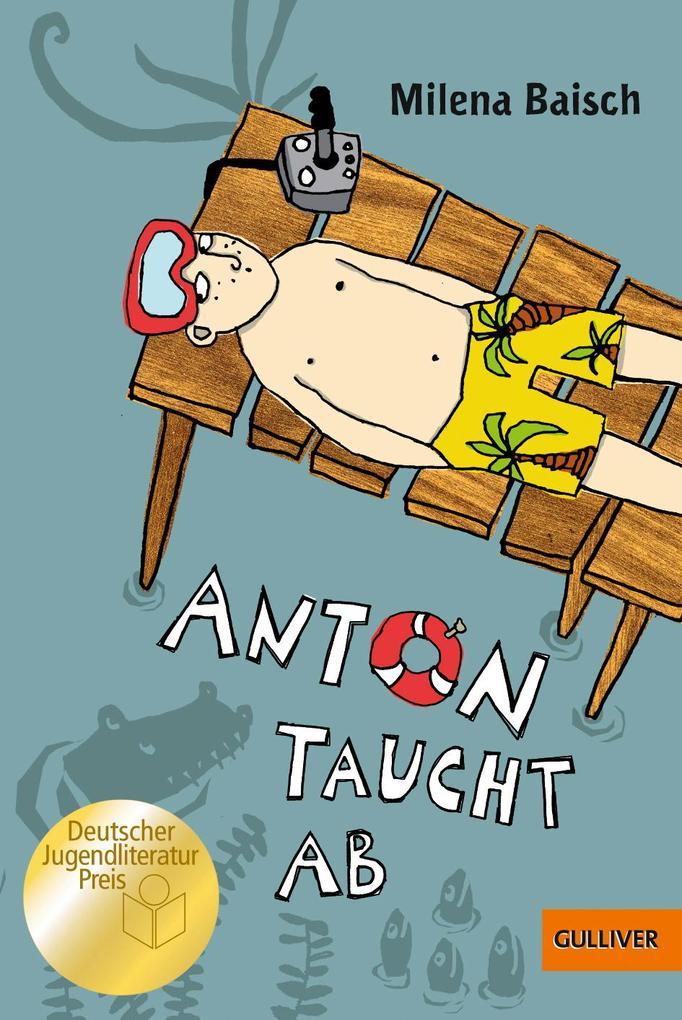 Anton taucht ab als Taschenbuch