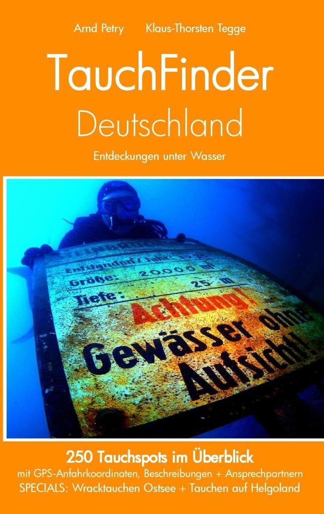 TauchFinder Deutschland als eBook epub